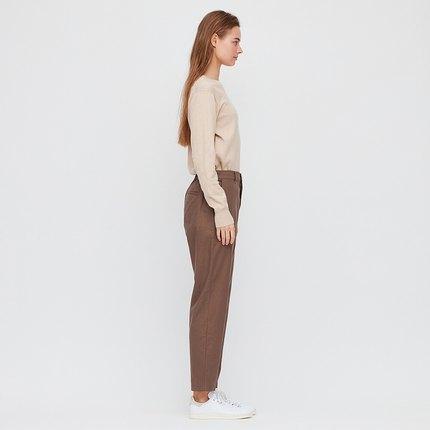 UNIQLO Quần Casual  Quần linen nữ cotton hẹp miệng 424939 Uniqlo UNIQLO
