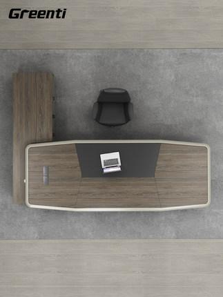 Greenti Thị trường nội thất văn phòng Nội thất văn phòng Getai ông chủ bàn bàn đơn giản hiện đại bàn