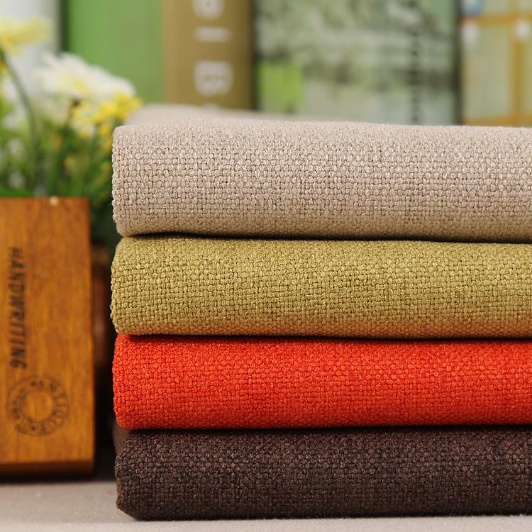 Vải Linen Vải sofa, vải lanh, vải lanh, vải lanh tổng hợp, gối vải lanh dày cao cấp, vải sofa và vải