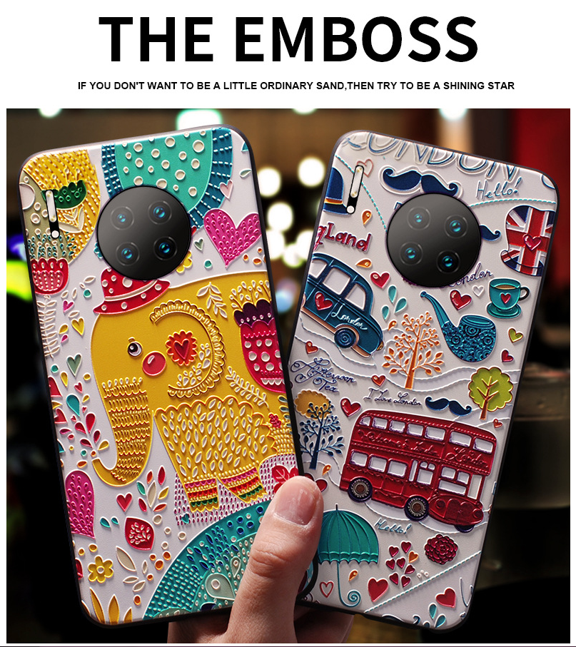 Ốp lưng điện thoại di động mới của Apple Huawei mate30 phù hợp