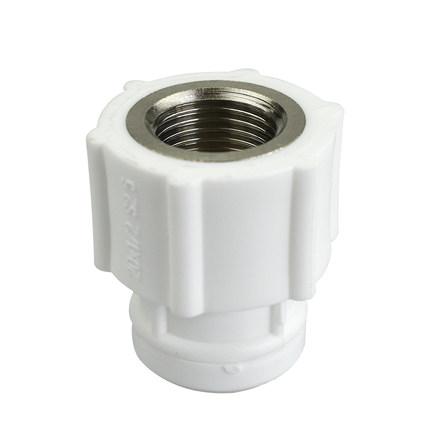 Ginde Van Jinde ống công nghiệp PPR ống nước nóng chảy phụ kiện chung 4 điểm 6 điểm ống nước lạnh và