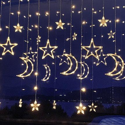 Wan Yong Đèn trang trì  đèn led sao năm mới đèn lồng nhấp nháy đèn chuỗi ánh sáng bầu trời trang trí