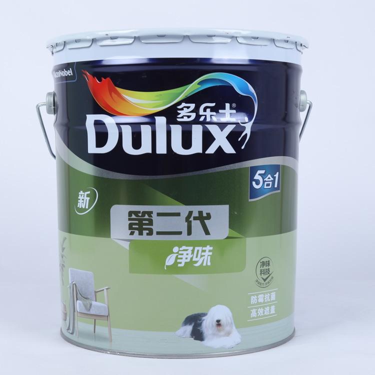 Dulux Sơn thế hệ thứ hai trong một hương vị tinh khiết sơn latex nội thất sơn tường sơn tường nhà tự