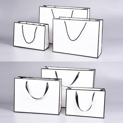 Xiangxian Túi giấy đựng quà  Túi giấy tùy chỉnh in logo cửa hàng quần áo túi mua sắm takeaway tote t