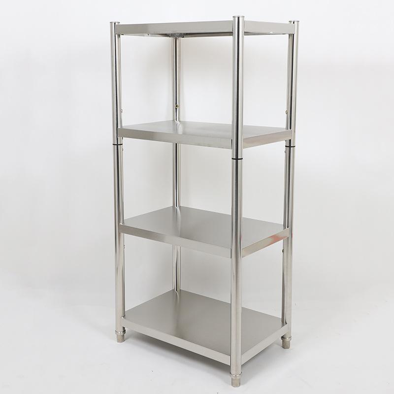 CHENGYONG Kệ hàng Lò vi sóng kệ tủ kệ inox sàn kệ tủ hình chữ nhật 4 lớp kệ bếp inox