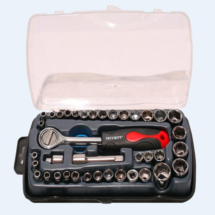 ZHONGXIN 40 mảnh kết hợp tay áo thiết lập tay áo công cụ sửa chữa tự động công cụ phần cứng nhà lục
