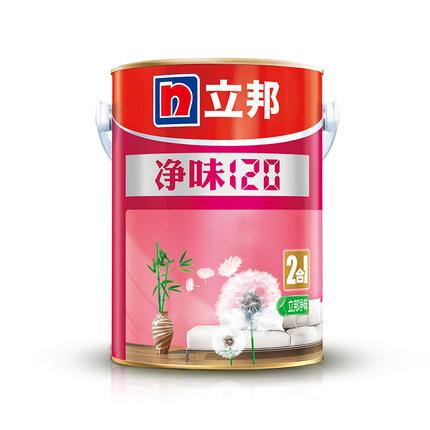 Nippon Sơn Pure Taste 120 Sơn tường nội thất hai trong một sơn trắng latex topcoat sơn 5L