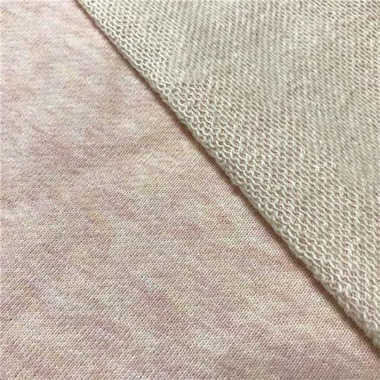 Vải French Terry (Vấy cá) Mùa thu và mùa đông cotton 320 g vải chéo hai vị trí quần áo nam David và