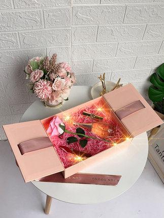 Hộp quà tặng  Hộp quà tặng gió hộp quà đóng gói hộp rỗng hộp son môi lưu niệm nữ phù dâu hộp quà tặn