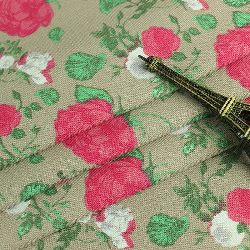 XUEGUI Vải Chiffon & Printing 2020 nhà sản xuất bán sản phẩm mới, vải in bông, vải in chéo, hoa hồng