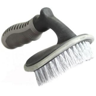 HUIMO Dụng cụ rửa xe Bàn chải bánh xe ô tô công cụ rửa xe lốp bàn chải lông mềm làm sạch bàn chải nh