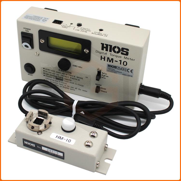 HIOS Linh kiện sắt thép Nhật Bản HIOS tốc độ bám tốt HM-10 mô-men xoắn đếm hiển thị dụng cụ đo mô-me
