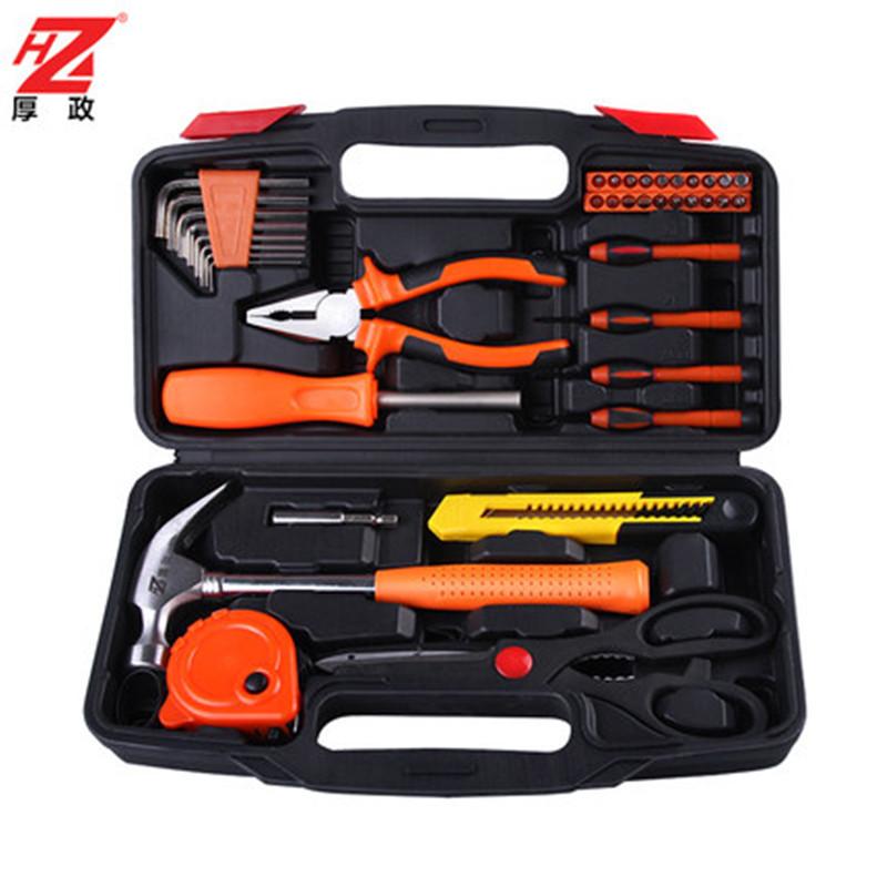 Houzheng Dụng cụ thủ công Bộ công cụ gia đình 39 mảnh kết hợp gia đình hướng dẫn sử dụng bộ công cụ