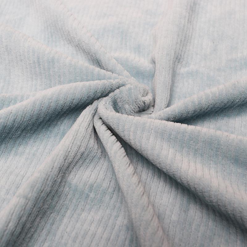 YUANJIU Vải khăn lông Drawbar dọc spandex nhung vải tùy chỉnh vải nhung vải terry vải nhung dày