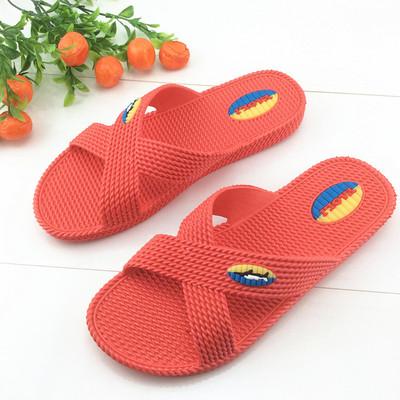 Yaoli Giầy dép chính hãng dép và dép mùa hè nam và nữ mới đôi nhà chống trượt mềm đáy tích hợp dép đ
