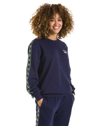 PUMA Sweater (Áo nỉ chui đầu)  Puma chính thức mùa xuân và mùa thu nam nữ chính thức với áo len thể