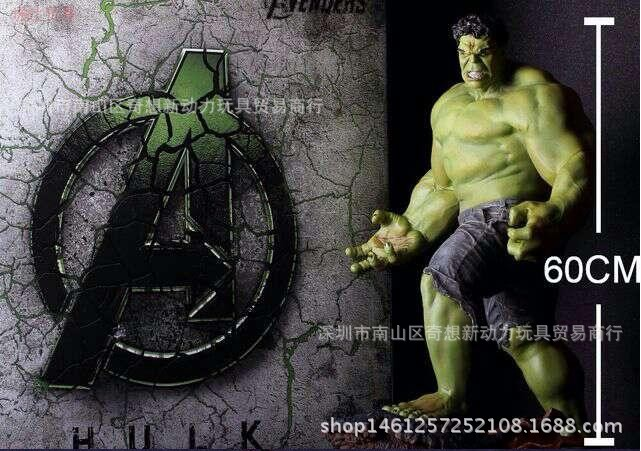 Animation Hulk, 1 / 4 super size Avenger alliance Hulk hand model toys