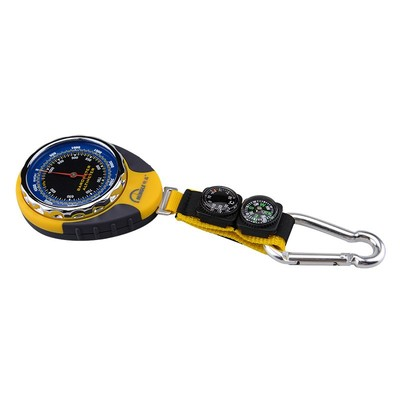 Mingle Đồng hồ đo nhiệt độ , độ ẩm Quay số biển độ cao xe ngoài trời câu cá leo núi phong vũ biểu la