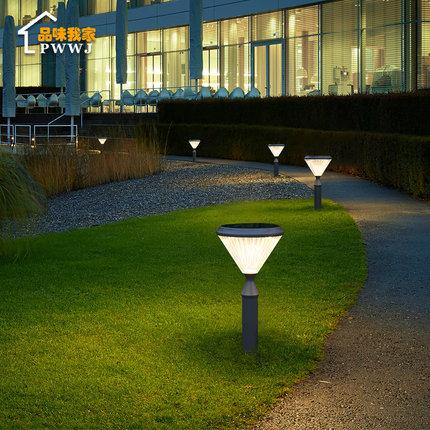 Đèn LED sân vườn Đèn năng lượng mặt trời sân nhà khách sạn sân vườn biệt thự cảnh quan sân ngoài trờ