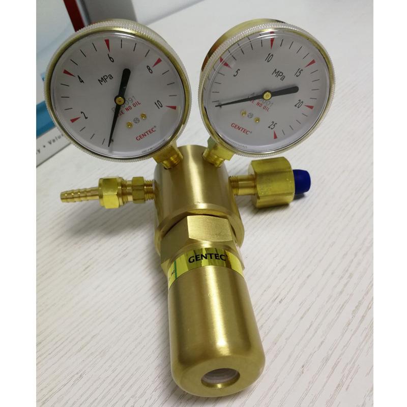 GENTEC Đồng hồ đo áp suất Jierui GENTEC 591 loạt cao áp 591X-750 Bộ giảm oxy oxy Jierui