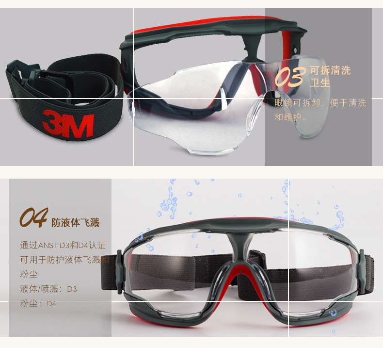 Kính chống sương mù 3D- m