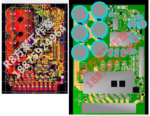 INVT vector chuyển đổi tần số chv100 chuyển đổi tần số pcb chương trình sơ đồ tài liệu sản xuất hàng