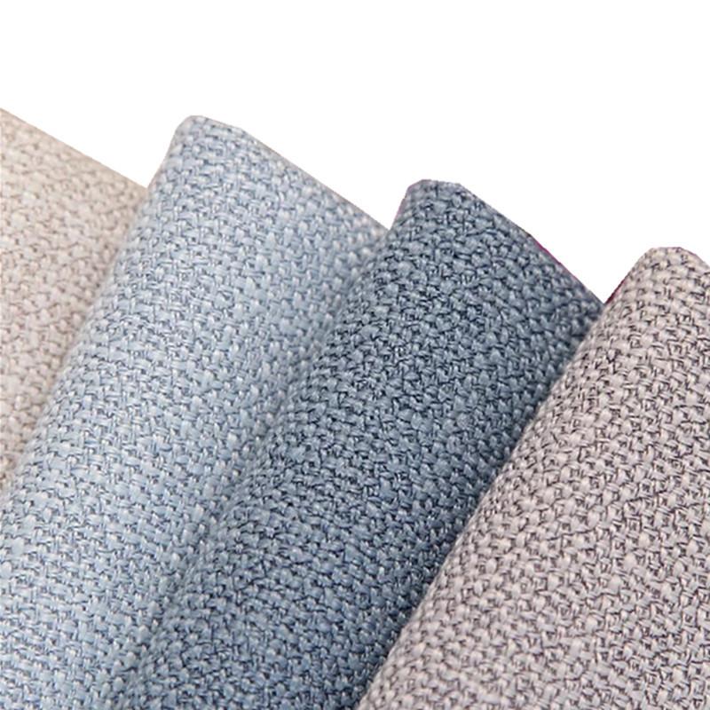 YIXUAN Vải Linen Nhà máy trực tiếp sofa giả vải lanh xe ô tô bao gồm mục vụ lanh cao cấp vải lanh th