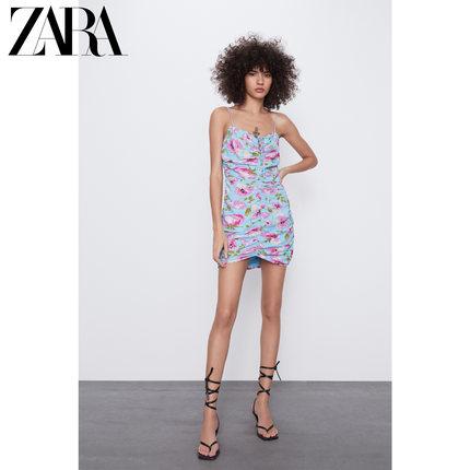 ZARA Váy  mới TRF váy xếp li nữ tính 02609670403