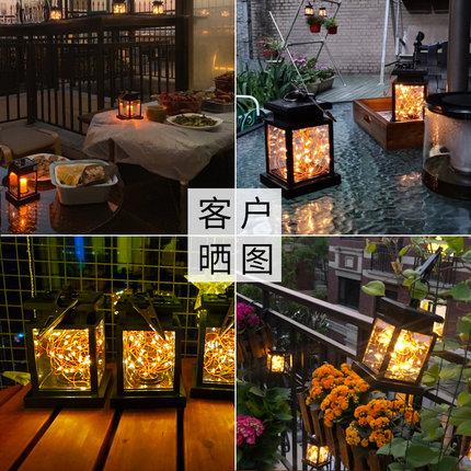 Liangguangjing Đèn LED sân vườn Năng lượng mặt trời ngoài trời LED trang trí nhà không thấm nước biệ