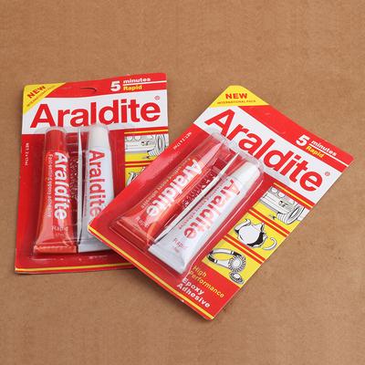 Araldite Keo dán tổng hợp Araldite trang sức keo đặc biệt inlay sáp ong trong suốt ab keo hổ phách n
