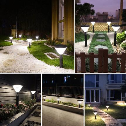 Đèn LED thảm cỏ Đèn năng lượng mặt trời sân nhà khách sạn sân vườn biệt thự cảnh quan sân ngoài trời