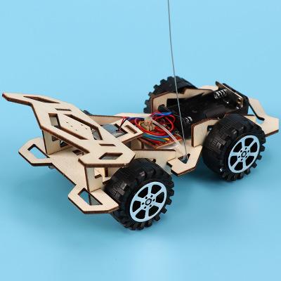 CHANGSHAI Đồ chơi bằng gỗ Học sinh tiểu học phát minh khoa học và công nghệ sản xuất lắp ráp xe đua