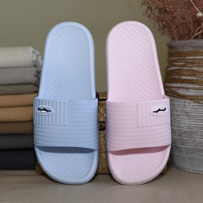 Yaoli Giầy dép dép mùa hè nhà mới chống trượt khách sạn phòng tắm vòi sen tắm đôi dép nhựa nam và nữ
