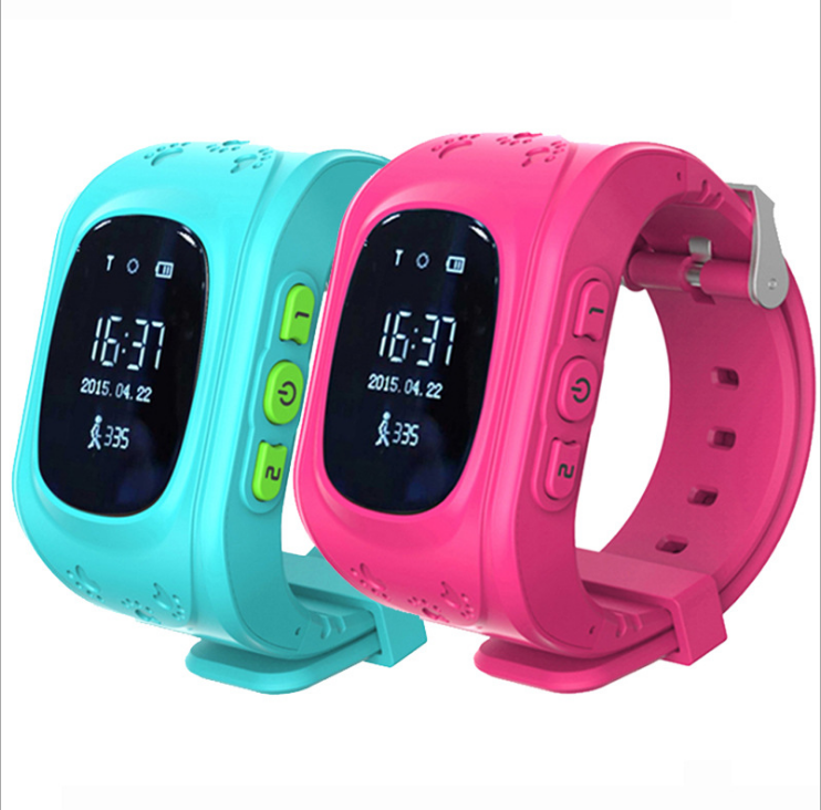 Nhà máy cung cấp trực tiếp cho trẻ em Q50 định vị đồng hồ đeo tay thông minh Điện thoại đeo tay màn