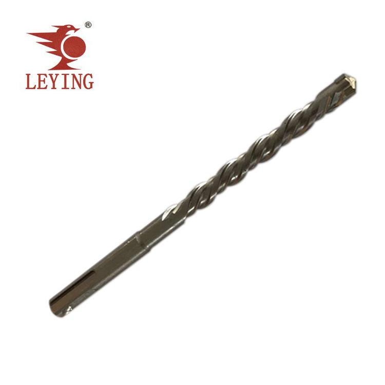 LEYING Đầu khoan Yue Khánh Hengda công cụ Leying tròn xử lý SDS khe đôi chéo điện búa khoan khoan tá