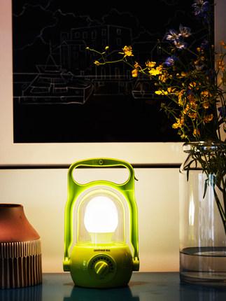 Shibei Đèn LED khẩn cấp  led khẩn cấp ánh sáng nhà sạc ánh sáng siêu sáng buồng đa chức năng bóng đè
