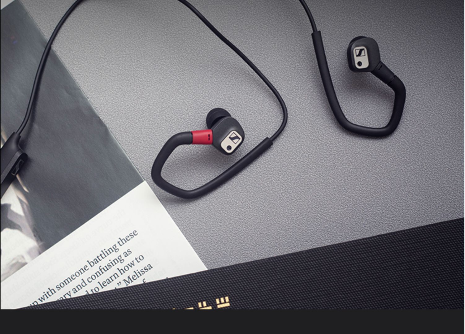Sennheiser ie80sbt high fidelity hi fi Bluetooth headset