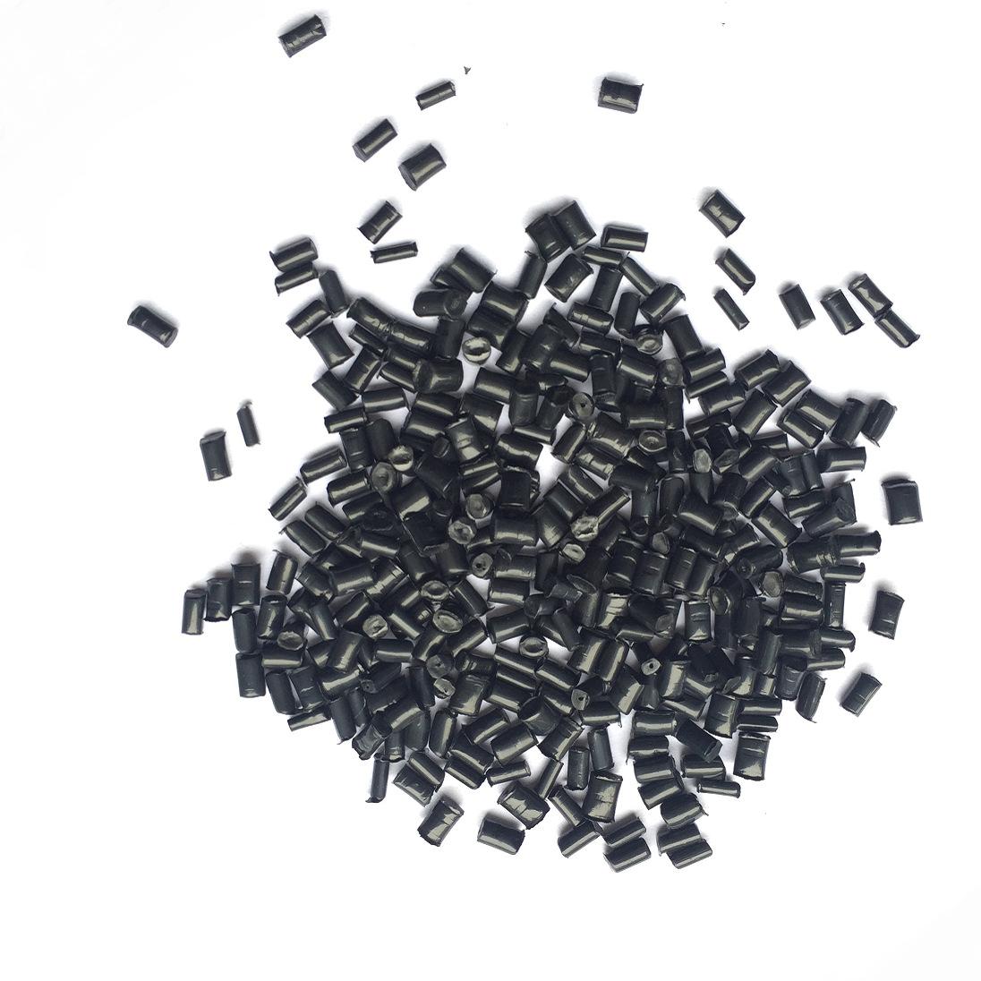 SIWEITE Nhựa tái sinh Cung cấp vật liệu tái chế PA6 màu đen mà không có độ dẻo cao
