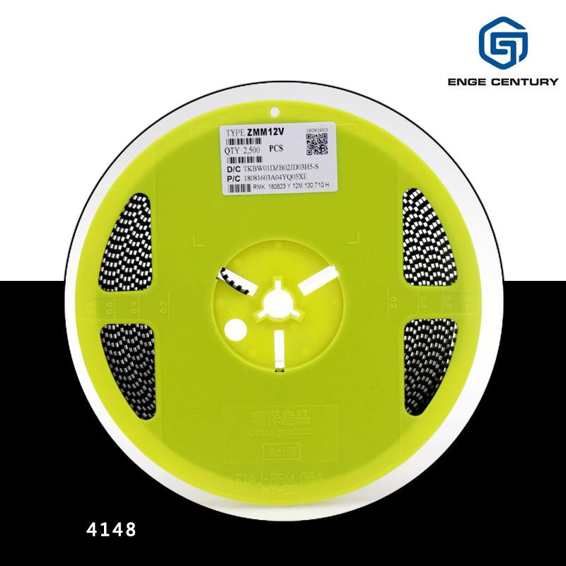 ST Điốt bán dẫn Diode bảo vệ môi trường được điều chỉnh bằng điện áp LL4148 LL-34 1206 IN4148 diode