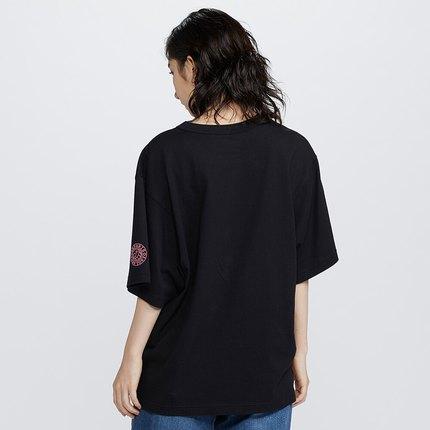 Áo thun Áo phông nữ in hình đôi (UT) Áo phông in hình (áo ngắn tay) 427988 Uniqlo