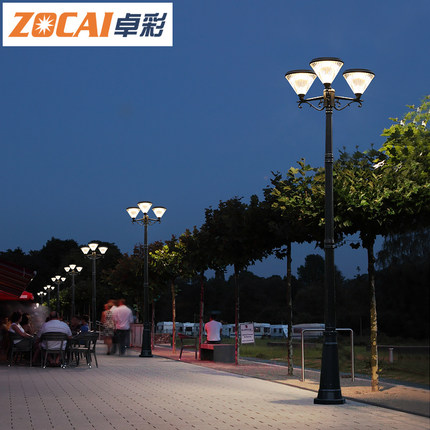 Đèn LED chiếu sáng công cộng  Đèn năng lượng mặt trời siêu sáng nhà ngoài trời không thấm nước led v