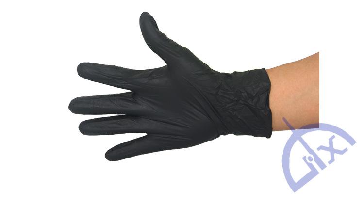Găng tay Cấp thực phẩm dùng một lần găng tay nitrile xanh / PVC / thuốc nitrile