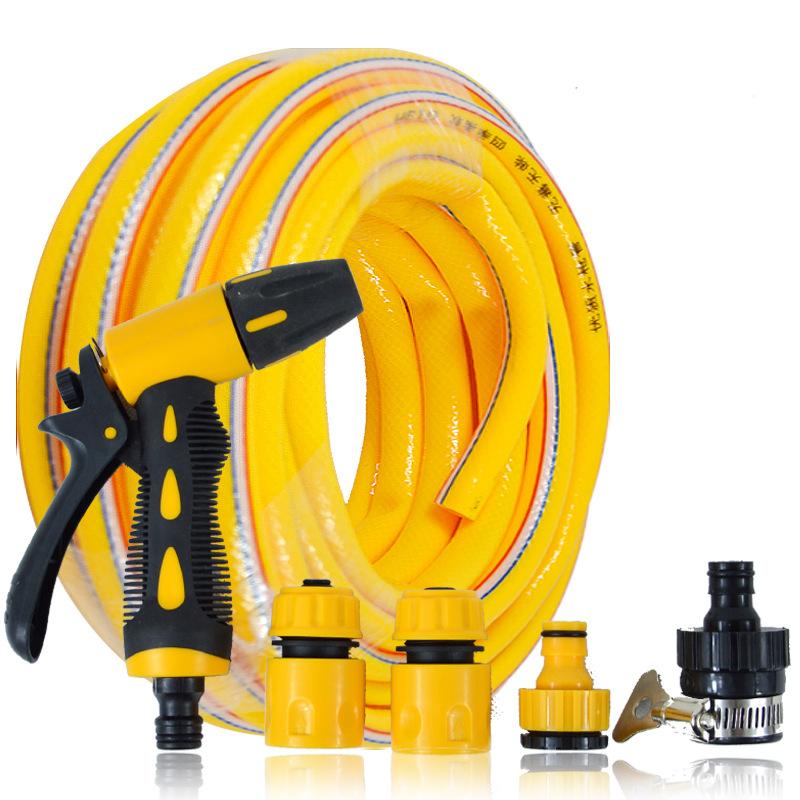 WANSHENG Dụng cụ rửa xe Xe rửa xe súng nước áp lực cao hộ gia đình làm sạch đường ống nước làm vườn
