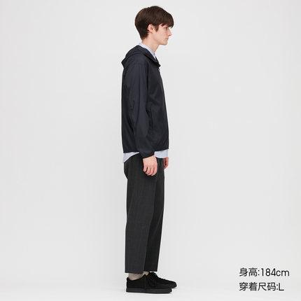 Áo khoác Trang phục nam / Cặp đôi Mặc UV Bảo vệ Áo khoác trùm đầu (Quần áo chống nắng) 425028 Uniqlo