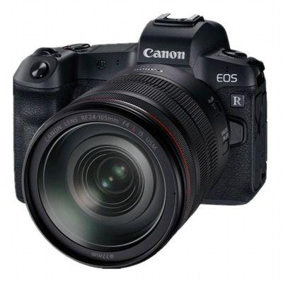 Máy quay Canon EOS r SLR R R R R 24-10 f/ 4L USM đã được cài đặt một bộ phim chuyên nghiệp một cái m