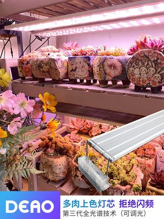 Đèn led ống kích thích sinh trưởng cây trồng mọng nước lấp đầy ánh sáng .
