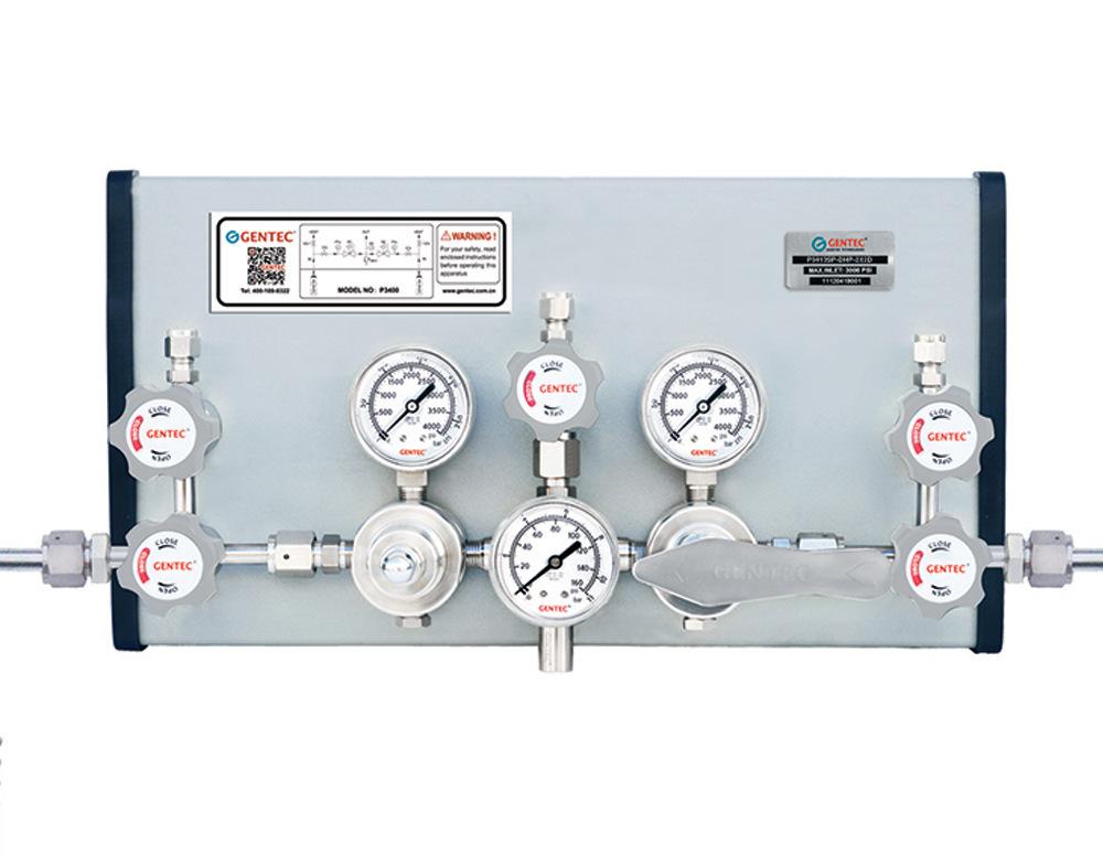 GENTEC Đồng hồ đo áp suất Bảng điều khiển khí đặc biệt GENTEC Jie Rui P3413SP-DHG