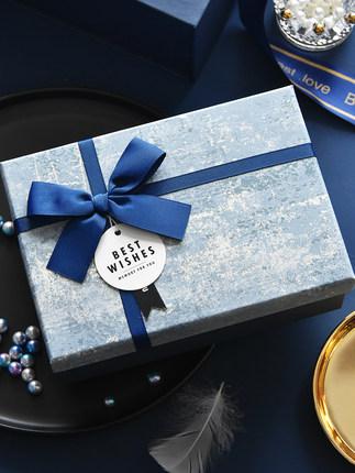Hộp quà tặng  Hộp quà tặng gió lớn tinh tế sinh nhật tay quà tặng hộp bao bì hộp rỗng hộp đá cẩm thạ