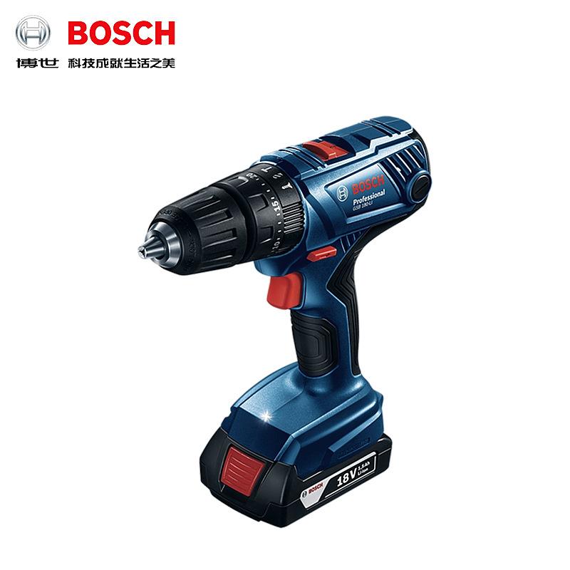 Bosch Dụng cụ bằng điện GSB180-LI pin lithium 18V khoan tay nhà có thể sạc lại súng lục tác động kho
