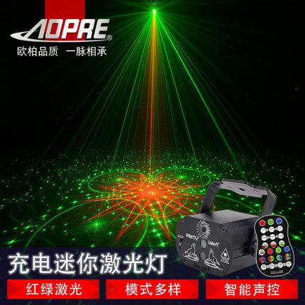 AOPRE Đèn sân khấu  ầm tay đèn laser bungee đèn flash bar KTV đèn flash phòng ký túc xá xoay đèn sân